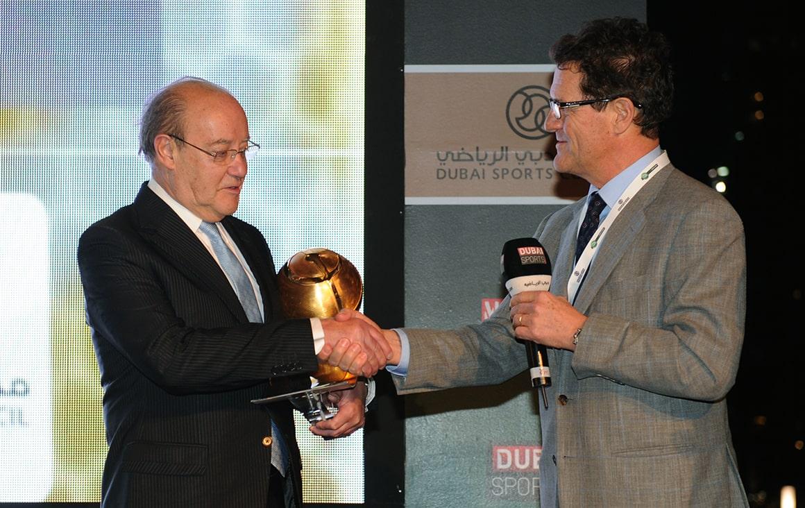 Jeorge Pinto Da Costa - Globe Soccer Career Award