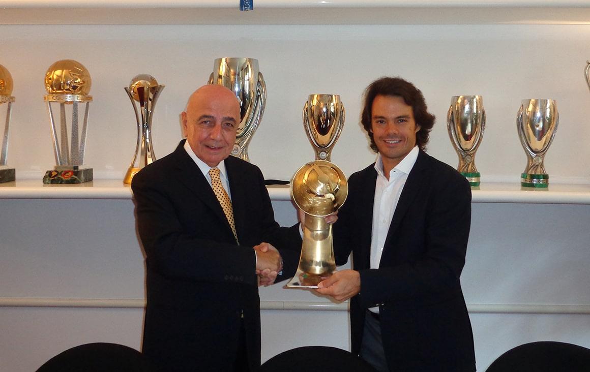 Adriano Galliani - Globe Soccer Career Award