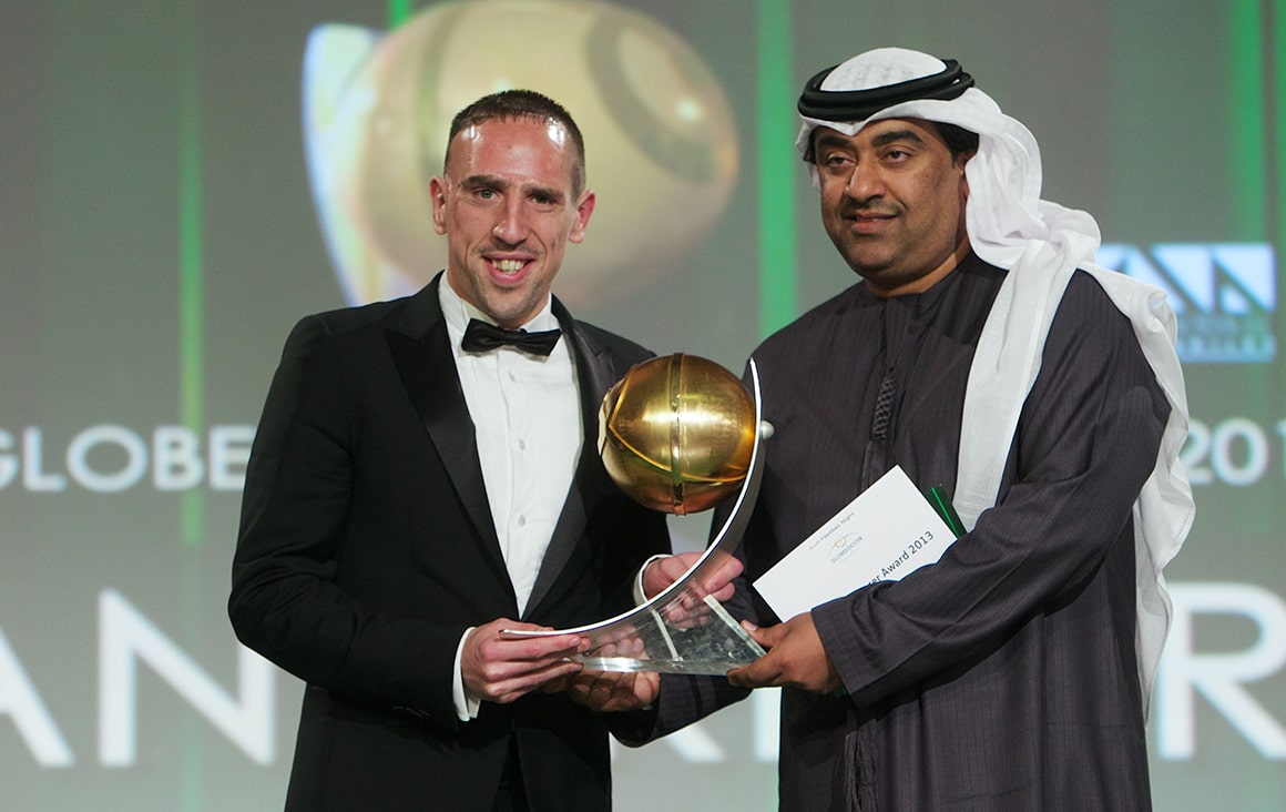 Franck Ribéry - The Globe Soccer Awards