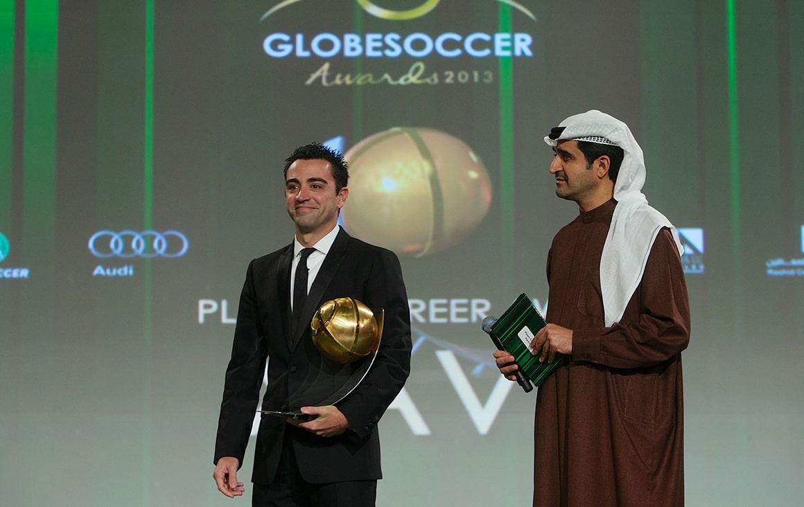 Xavi - Player Career Award