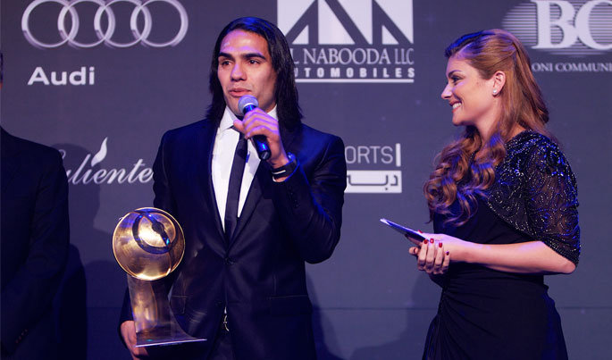 Radamel Falcao (BEST PLAYER OF THE YEAR)