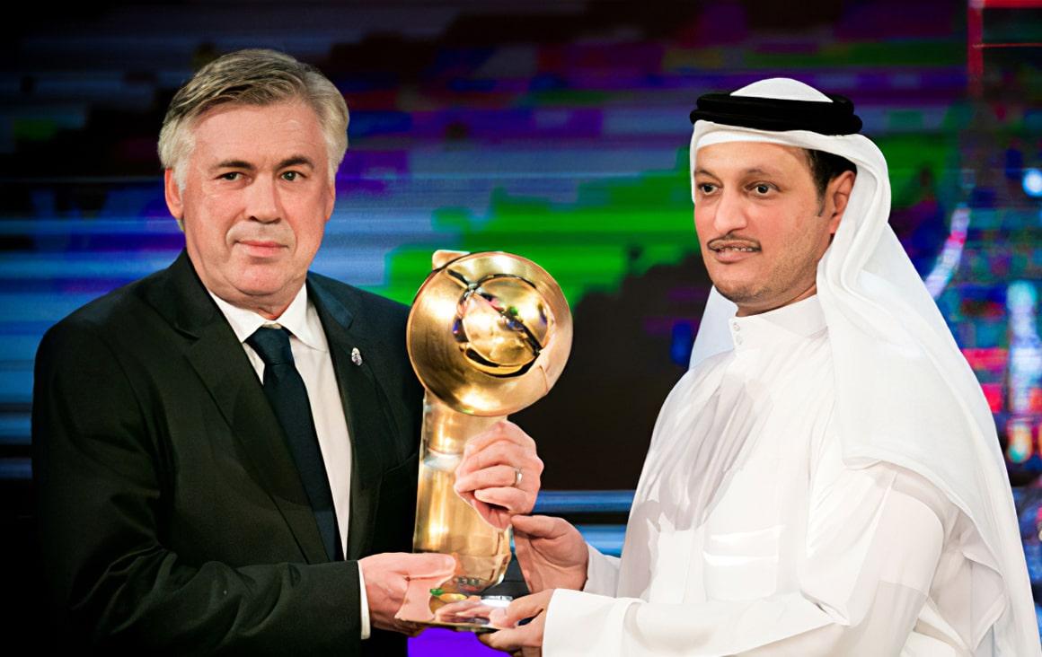 Carlo Ancelotti - Best Coach of the year