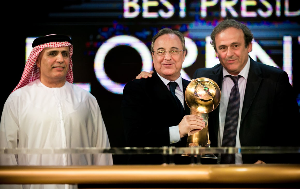 Florentino Perez - Best President of the year