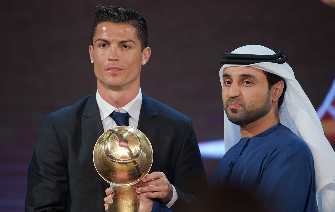 Cristiano Ronaldo - Best Player of the year