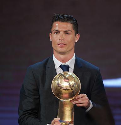 how many years has cristiano ronaldo played soccer