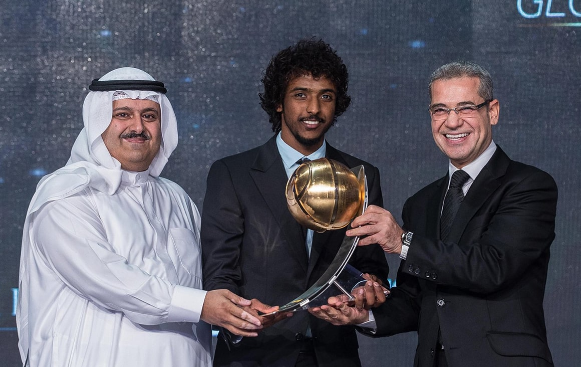 Yasir Al-Shahrani - Best GCC Player of the Year presented by Kooora
