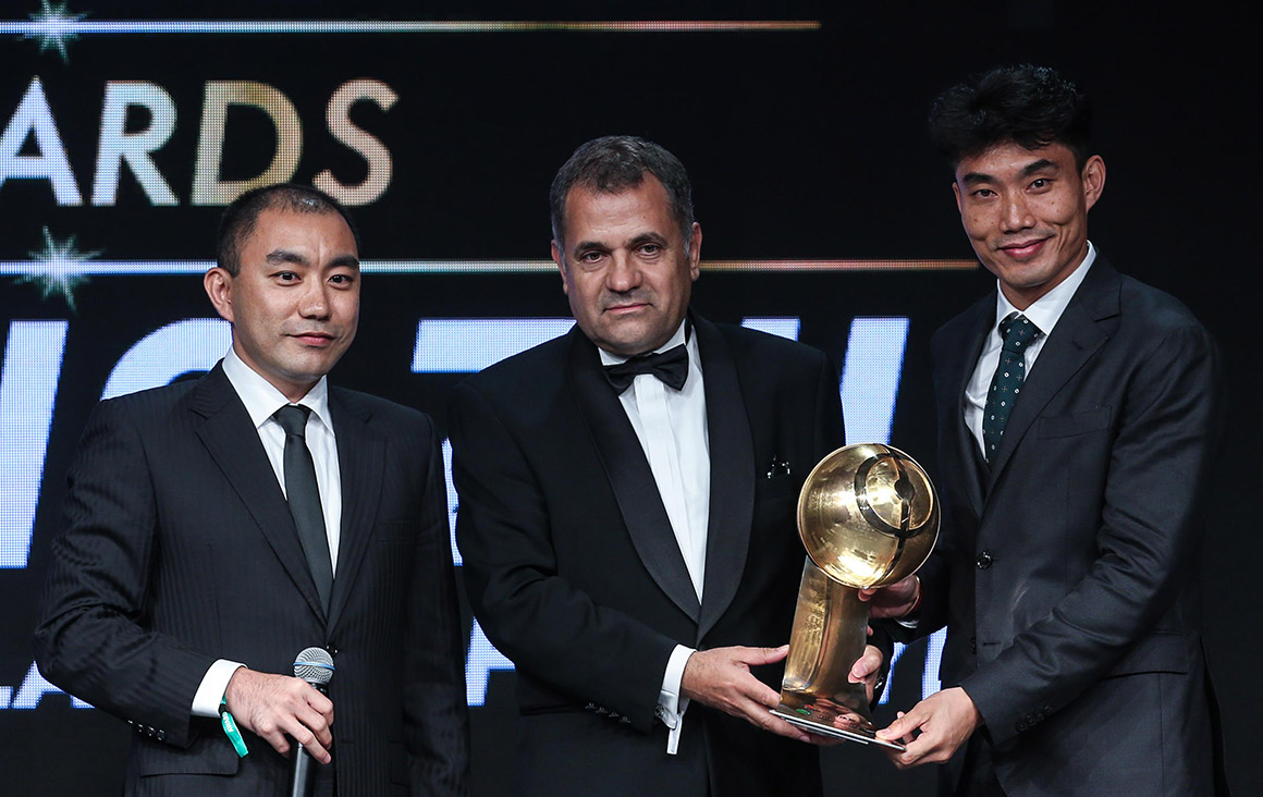 Zheng Zhi - Best Chinese Player of the Year