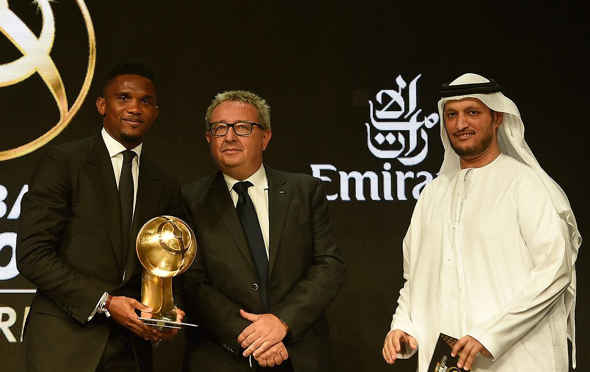 Samuel Eto'o - Player Career Award