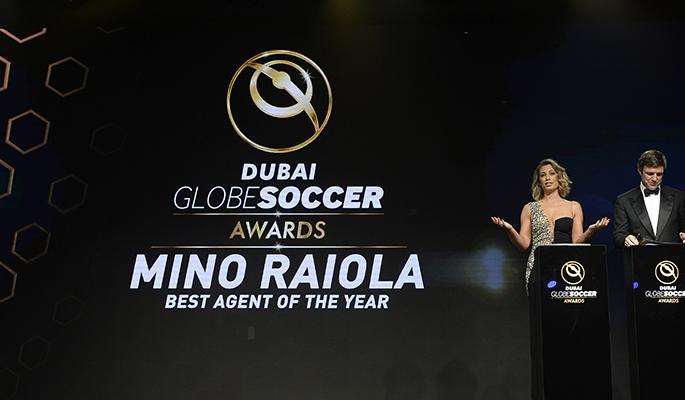 Mino Raiola ( Best agent of the Year )