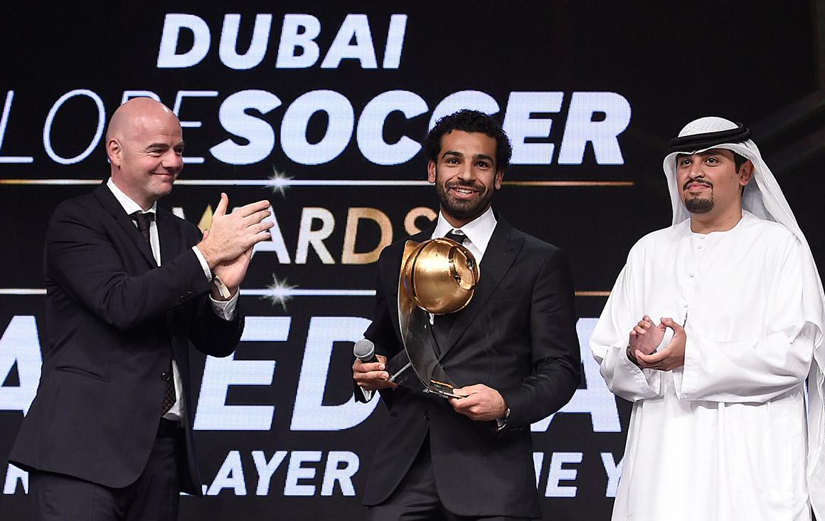 Mohamed Salah - Best Arab Player of the Year