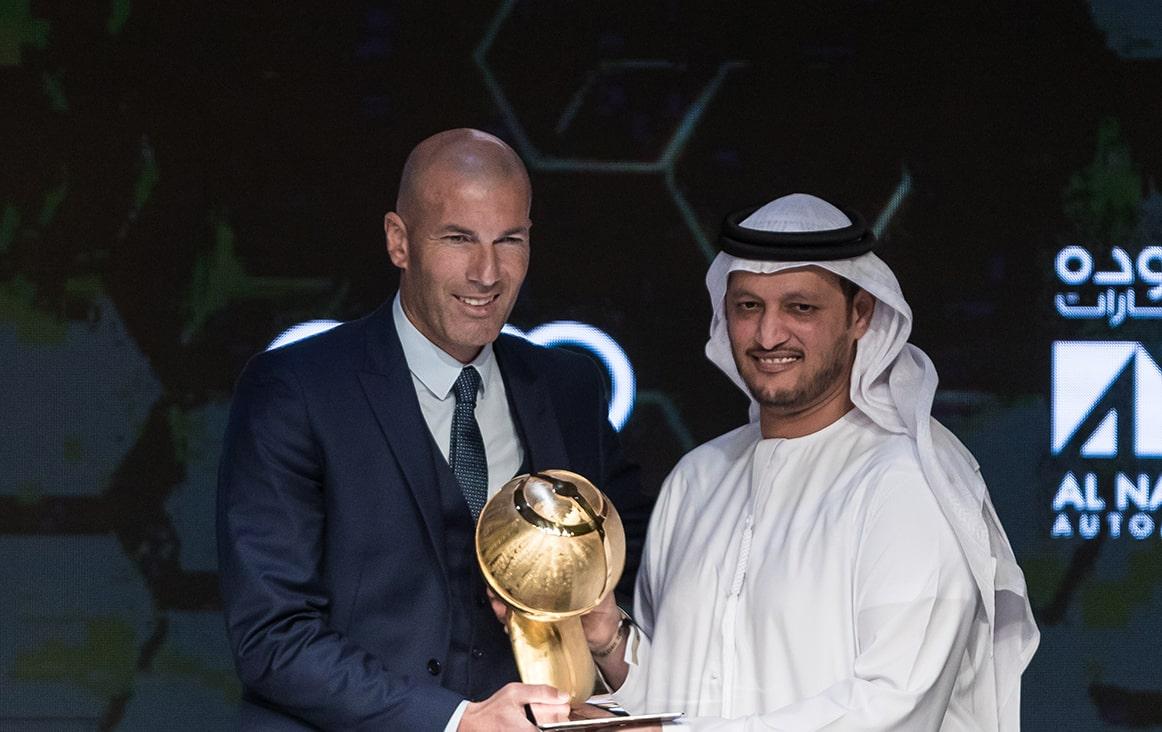Zinédine Zidane - Best Coach of the Year