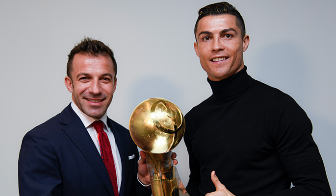 Cristiano Ronaldo (Best Player of the Year)