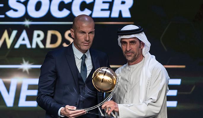Zinédine Zidane (Best Coach of the Year)