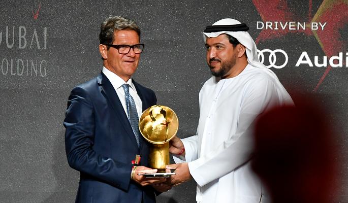 Fabio Capello (Coach Career Award)