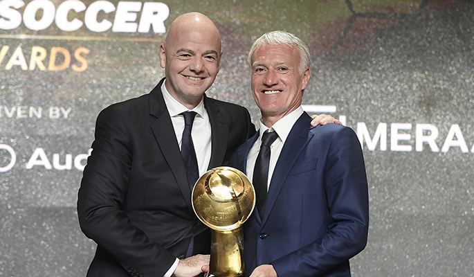 Didier Deschamps (Best Coach of the Year)