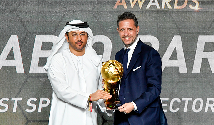 Fabio Paratici (Best Sporting Director of the Year)