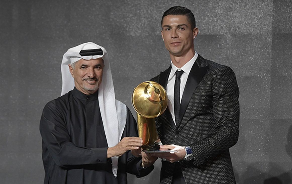 Cristiano Ronaldo - Globe Soccer 433 Fans' Awards