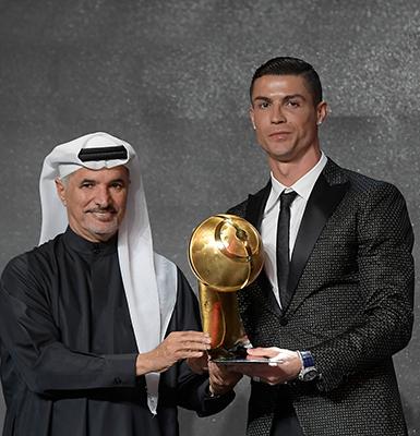 Cristiano Ronaldo - 433 Fans's Award 2018 - Globe Soccer Awards