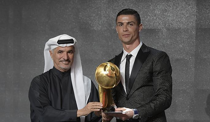 Cristiano Ronaldo (Globe Soccer 433 Fans' Awards)