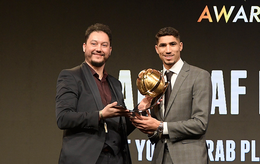 Achraf Hakimi - Best Young Arab Player of the Year