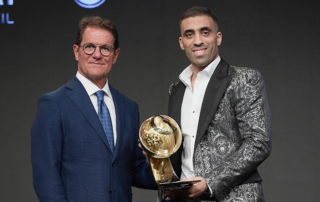 Abderazak Hamdallah - Al-Nassr FC, Saudi Arabia - Best Arab Player Award