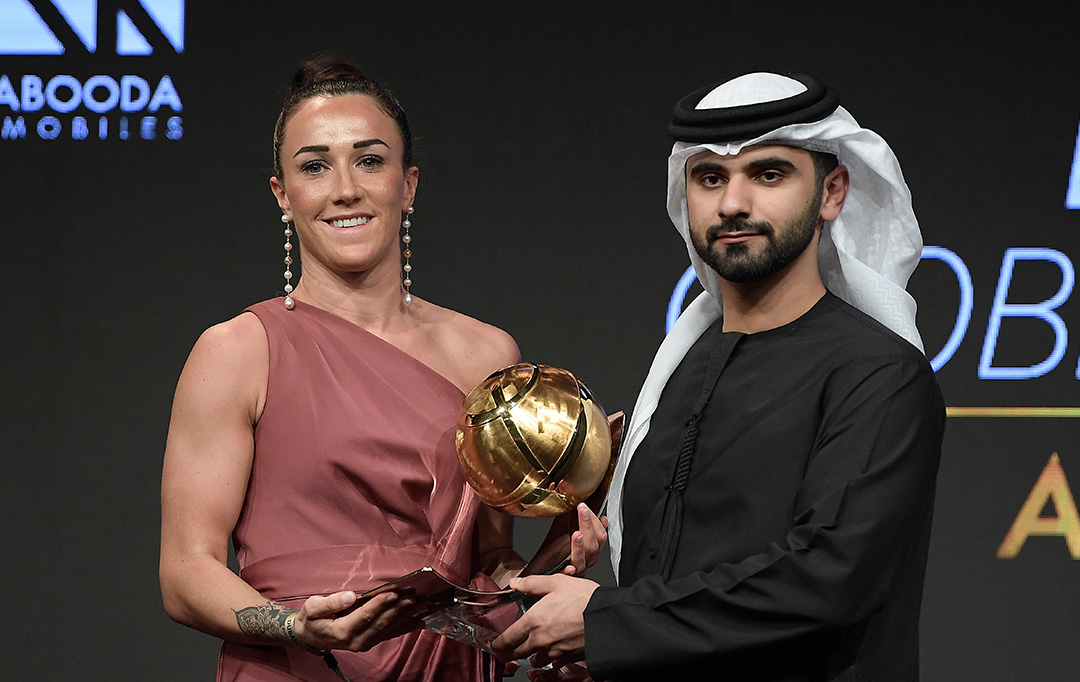 Lucy Bronze - Best Women's Player of the Year