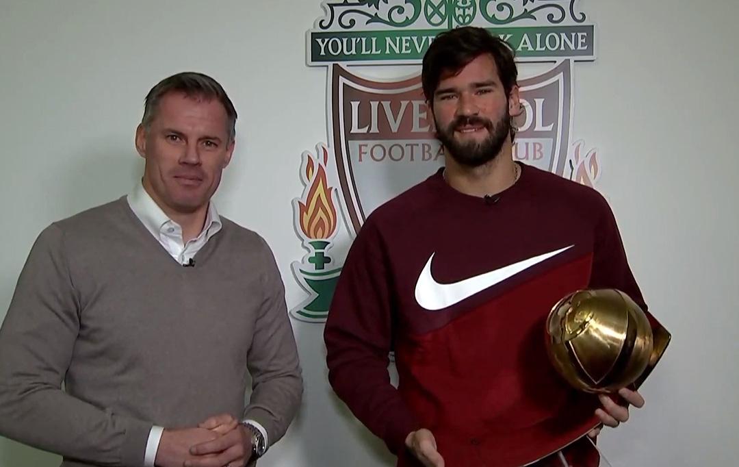 Alisson Becker - Best Goalkeeper of the Year