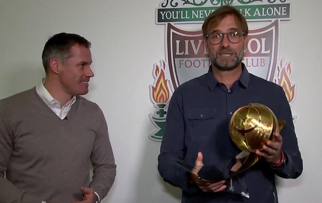 Jurgen Klopp - Best Coach of the Year