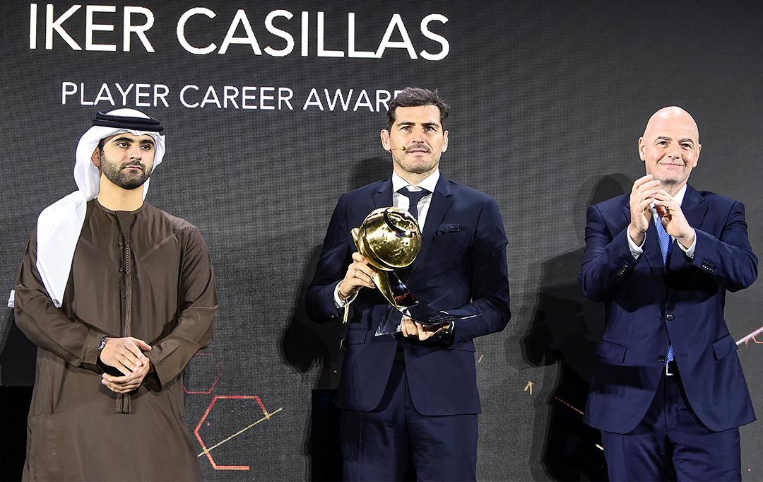 Iker Casillas - Player Career Award