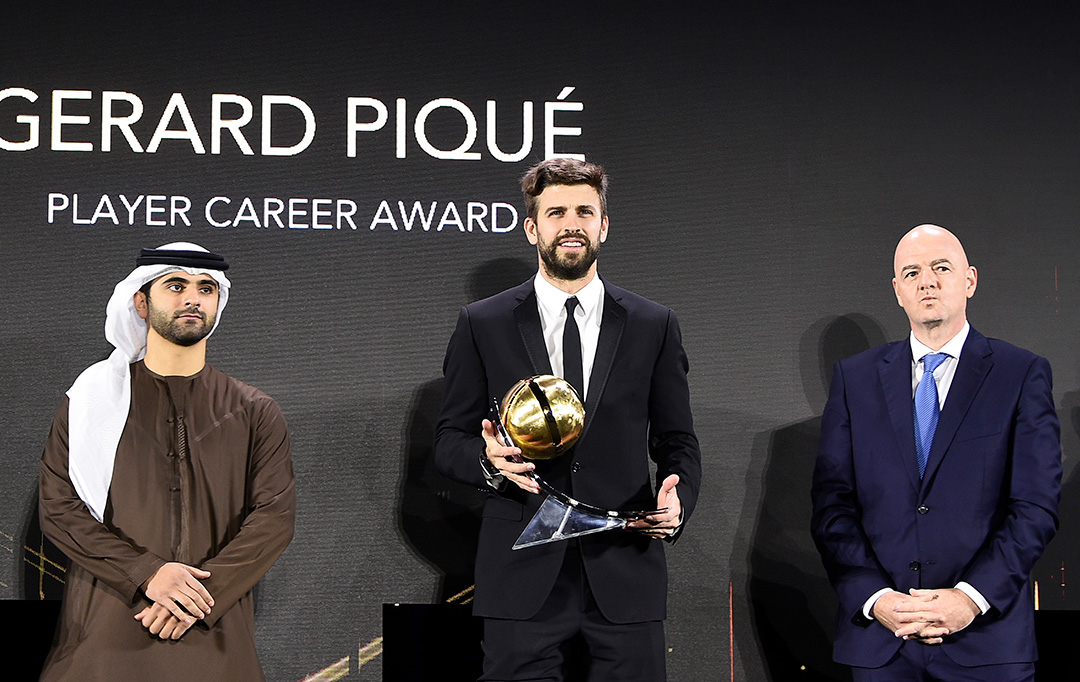 Gerard Piqué - Player Career Award
